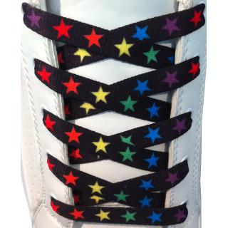 Lacci con stelle colorate