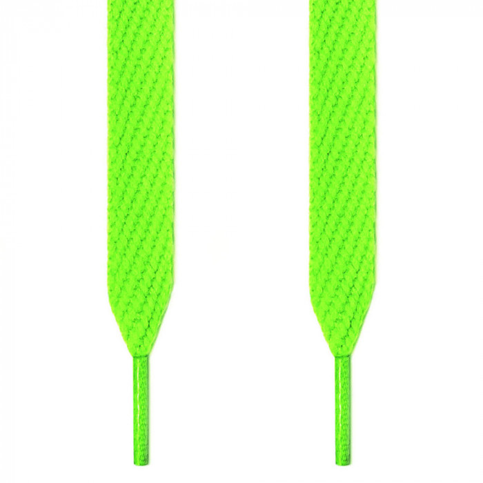 Lacci extra larghi verde fluo