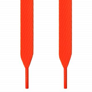 Lacci extra larghi arancione fluo