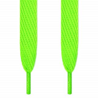 Lacci super larghi verde fluo