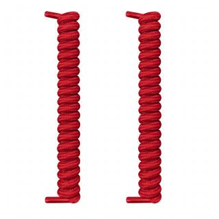 Lacci rossi a spirale