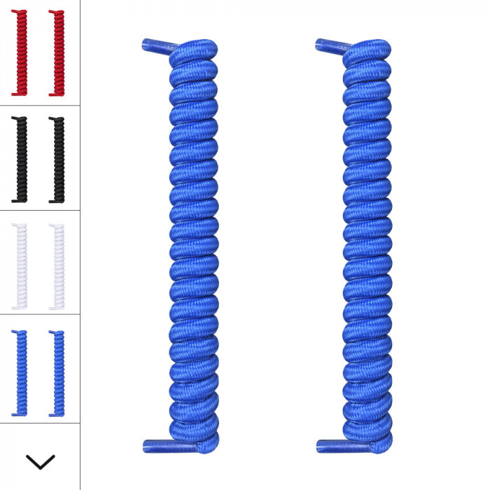 Lacci blu a spirale