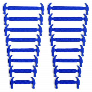 Lacci elastici in silicone blu