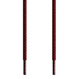 Adidas Yeezy - Lacci in Corda Nero e Rosso