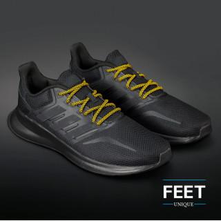 Adidas Yeezy - Lacci in Corda Giallo e Nero