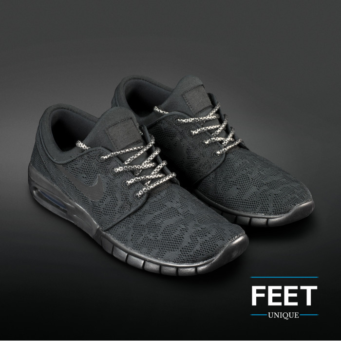 Adidas Yeezy - Lacci in Corda Argento e Nero